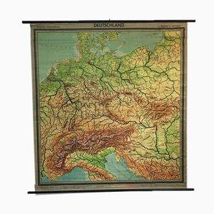 Westermann School Germany Vintage Map