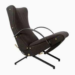 P40 Lounge Sessel von Osvaldo Borsani für Tecno mit Originalbezug, 1954