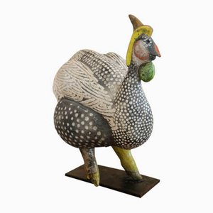 Ceramic Bird Sculpture by Roger Capron, 1960s