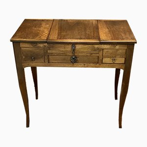 Antique Louis XV Walnut Dressing Table