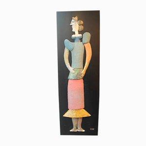Skulptur aus Keramik von Roger Capron, 1960er
