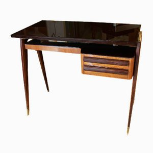 Rosewood Desk by Vittorio Dassi, 1960s