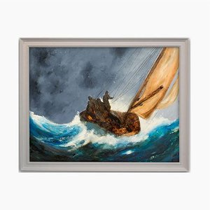 Maritime Seascape Oil Painting from David Chambers
