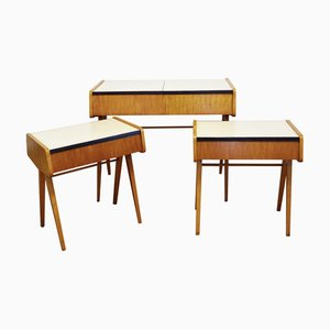 Bedroom Set by František Jirák, 1960s, Set of 3