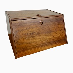 Mid-Century Swedish Rosewood Storage Box by Bertel Gardberg for Stig Bolaget