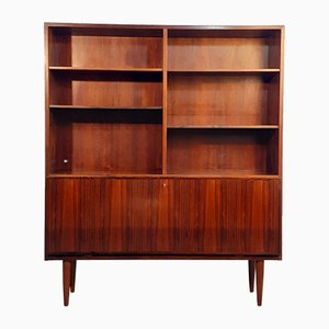 Mid-Century Scandinavian Rosewood Storage Cabinet from Omann Jun, 1960s