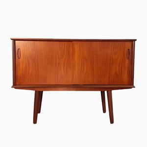 Small Vintage Danish Teak Sideboard, 1960s