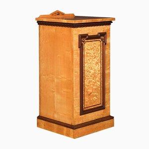 Antiker Eschenholz Nachttisch