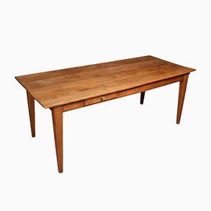 19th Century Cherry Wood Farmhouse Kitchen Table