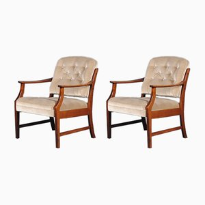 Mid-Century Modern Danish Dining Chairs, 1960s, Set of 2