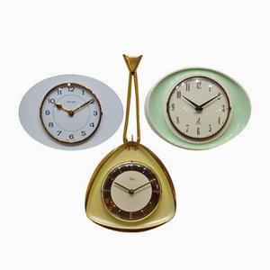 Vintage Triptych Uhren von Bayard, 1950er, 3er Set