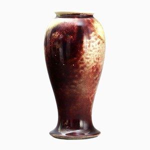Sang-de-Boeuf Flambe Vase von William Howson Taylor für Ruskin Pottery, 1920er