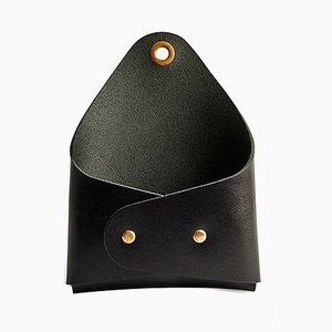 Kleiner schwarzer Posta Wandaufhänger von Bilge Nur Saltik für Uniqka