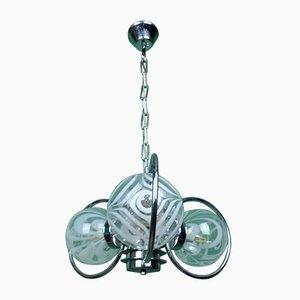 3-Schirm Pop Lampe, 1970er