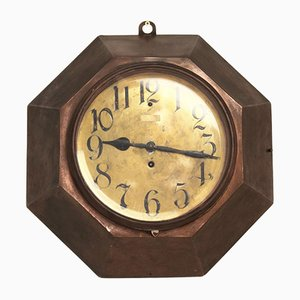 Large Antique Wall Clock by Adolf Loos