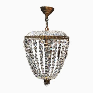 Vintage Viennese Crystal Chandelier, 1950s