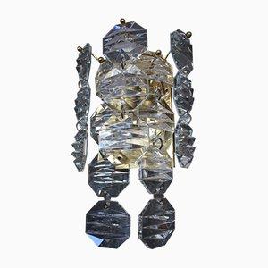 Kristallglas Wandlampen von JT Kalmer, 3er Set