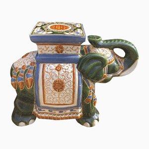 Cache-Pot Vintage Éléphants Sculpturaux, 1970s, Set de 2