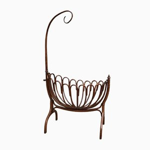 Bentwood Cradle from Thonet