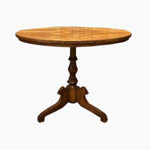 Antique Cherry Pedestal Table