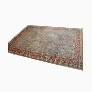 Moud Wool with Silk Carpet, 1950s