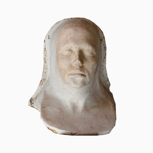 Vintage Plaster Mask, 1960s