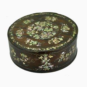 Antike Tonkin Box aus Palisander, 1890er