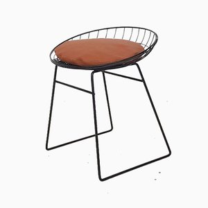 Dutch Metal Wire KM05 Stool by Cees Braakman for Pastoe, 1958