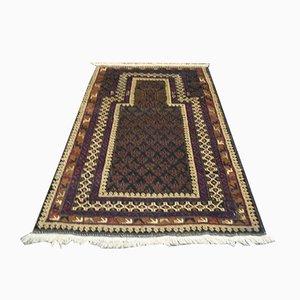 Afghan Belutch Wool Carpet, 1950s