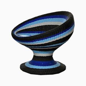 Italienische Blaue Chaise Longue von Schoenhuber e Franchi, 2010