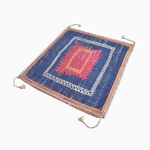 Sofreh Kilim Wool Carpet, 1950s