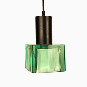 Deckenlampe von Flavio Poli für Seguso, 1950er
