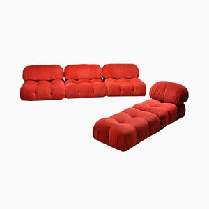 Modular Camaleonda Sofa by Mario Bellini for B&B Italia / C&B Italia, 1970s, Set of 5