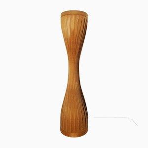 Lámpara de pie de madera de Hans-Agne Jakobsson para Hans-Agne Jakobsson AB Markaryd, años 60