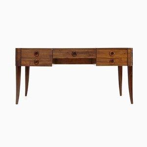 Schreibtisch mit 5 Schubladen von Paolo Buffa für Galdino Maspero, 1930er
