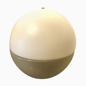 Italienische und italienische Space Age Murano Glas Tischlampe von Mazzega, 1960er
