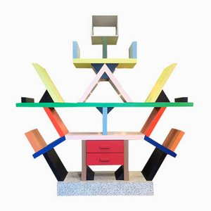 Carlton Library by Ettore Sottsass for Memphis, 1980s
