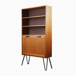 Vintage Gray Teak Sierra Drinks Cabinet from G-Plan, 1960s