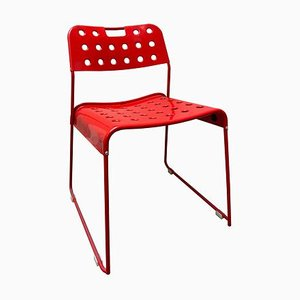 Vintage Italian Steel Omksyack Chair by Rodney Kinsman for Bieffeplast, 1980s
