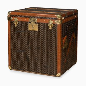 Antique French Hat Trunk from Goyard, 1900s