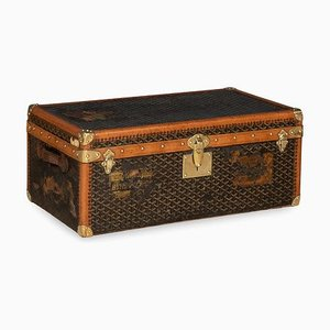 Antique French Trunk from Goyard, 1910s