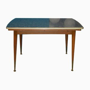 Mid-Century Extendable Marbled Mufuti Coffee Table, 1950s