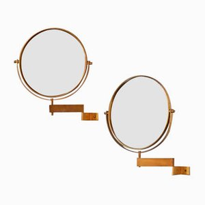 Swedish Wall Mirror by Hans-Agne Jakobsson for Hans-Agne Jakobsson AB Markaryd, 1950s