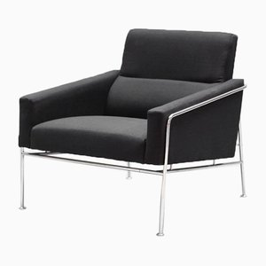 Mid-Century Model 3300 Airport Lounge Chair by Arne Jacobsen for Fritz Hansen, 1960s