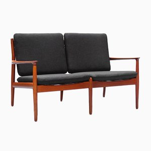 Danish Modern Teak Sofa by Grete Jalk for Glostrup, 1960s