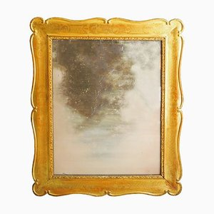 Antiker vergoldeter Spiegel, 1800er
