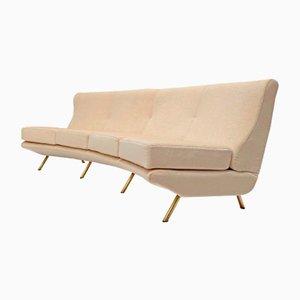 Elliptical Triennale Sofa by Marco Zanuso for Arflex, 1951