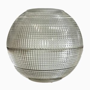 XL Parisian Holophane Globe Table Lamp, 1960s