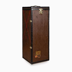 Antique French Male Penderie Trunk from Louis Vuitton, 1910s