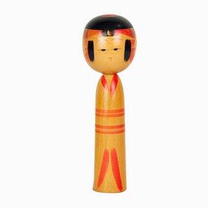 Kokeshi Puppe von Sakyo Niyama, 1970er